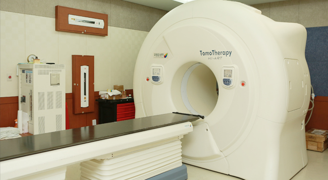Tomotherapy room